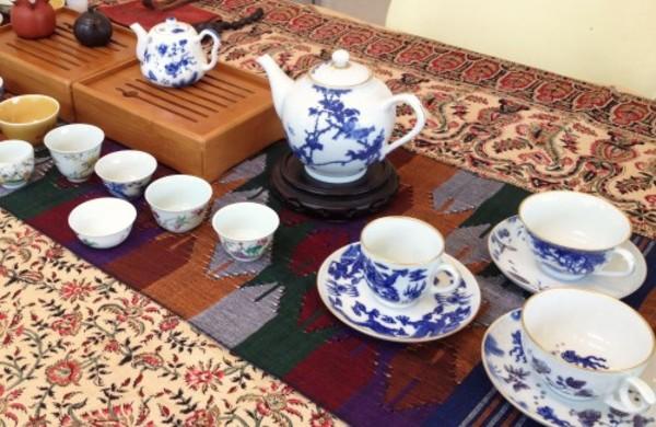 景徳鎮の茶器でプーアール茶を-2014年6月、7月のワークショップ