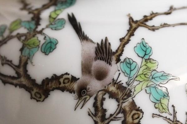 【景徳鎮の絵付け】鵲-喜びを報ずる鳥