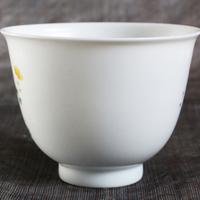高潔な理想の人格の象徴、老料柴窯富貴蝉図杯のサムネイル