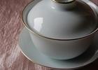 とても希少な本景徳鎮総手工の白磁蓋碗