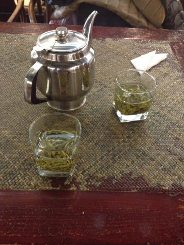 【景徳鎮研修2014】北京のお茶屋さんで一息。