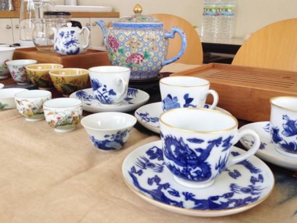 プーアール茶を景徳鎮茶器で-6月26日のワークショップ